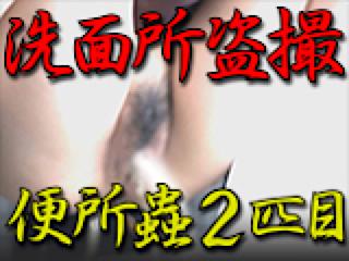 盗撮AV:洗面所盗SATU BEN所蟲リターンズ2匹目:パイパンマンコ