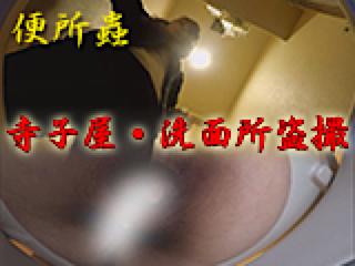 盗撮AV:寺子屋・洗面所盗SATU:おまんこパイパン