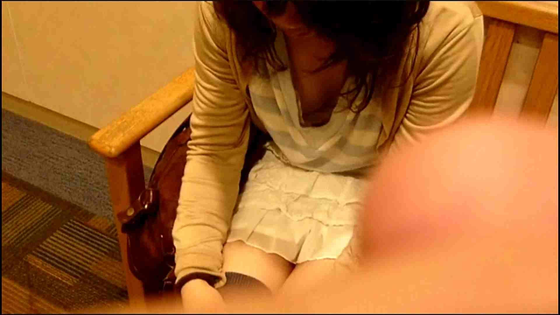 NO.3 某イオNN店内のエレベーター前でケータイに夢中な女の子 胸チラ   チラ  107画像 28