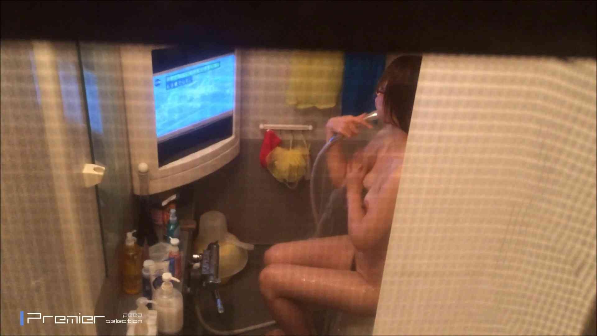美女のテレビを見ながらの入浴 乙女の風呂場 Vol.21 盗撮 | 細身  61画像 1