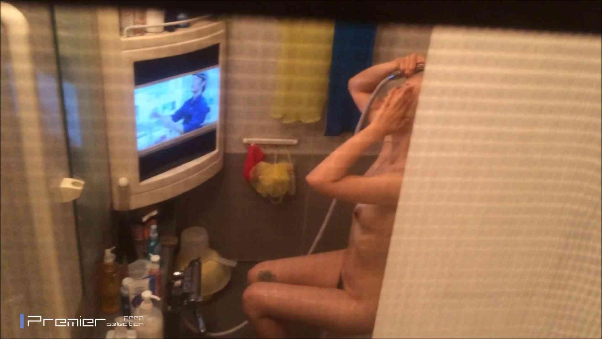 美女のテレビを見ながらの入浴 乙女の風呂場 Vol.21 盗撮 | 細身  61画像 3