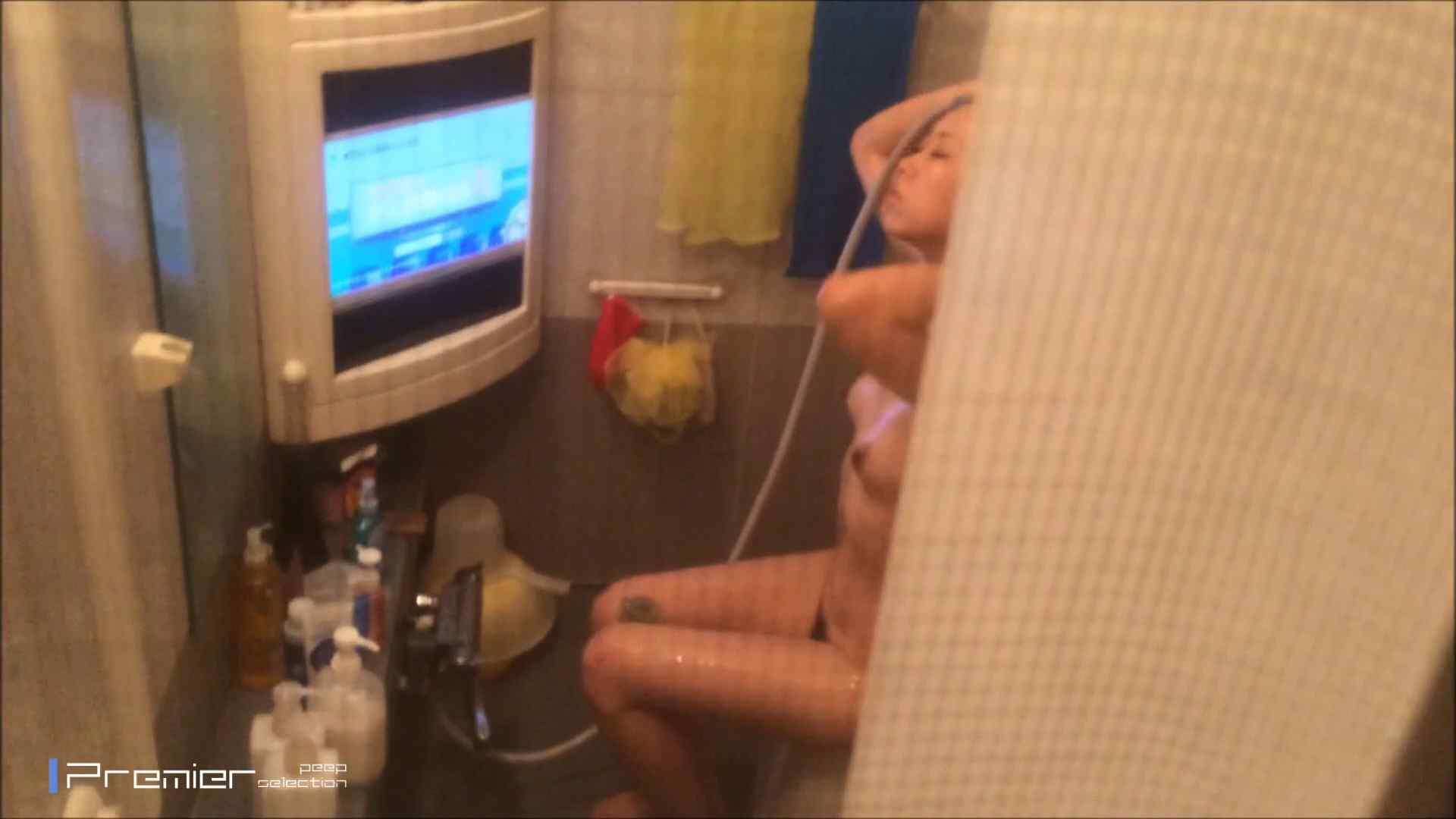 美女のテレビを見ながらの入浴 乙女の風呂場 Vol.21 盗撮 | 細身  61画像 41