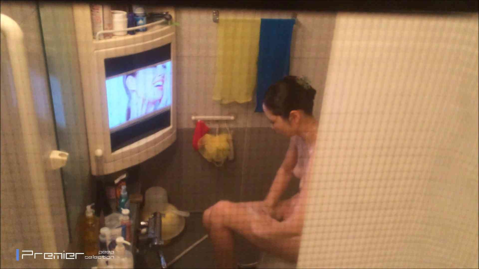 美女のテレビを見ながらの入浴 乙女の風呂場 Vol.21 盗撮 | 細身  61画像 47