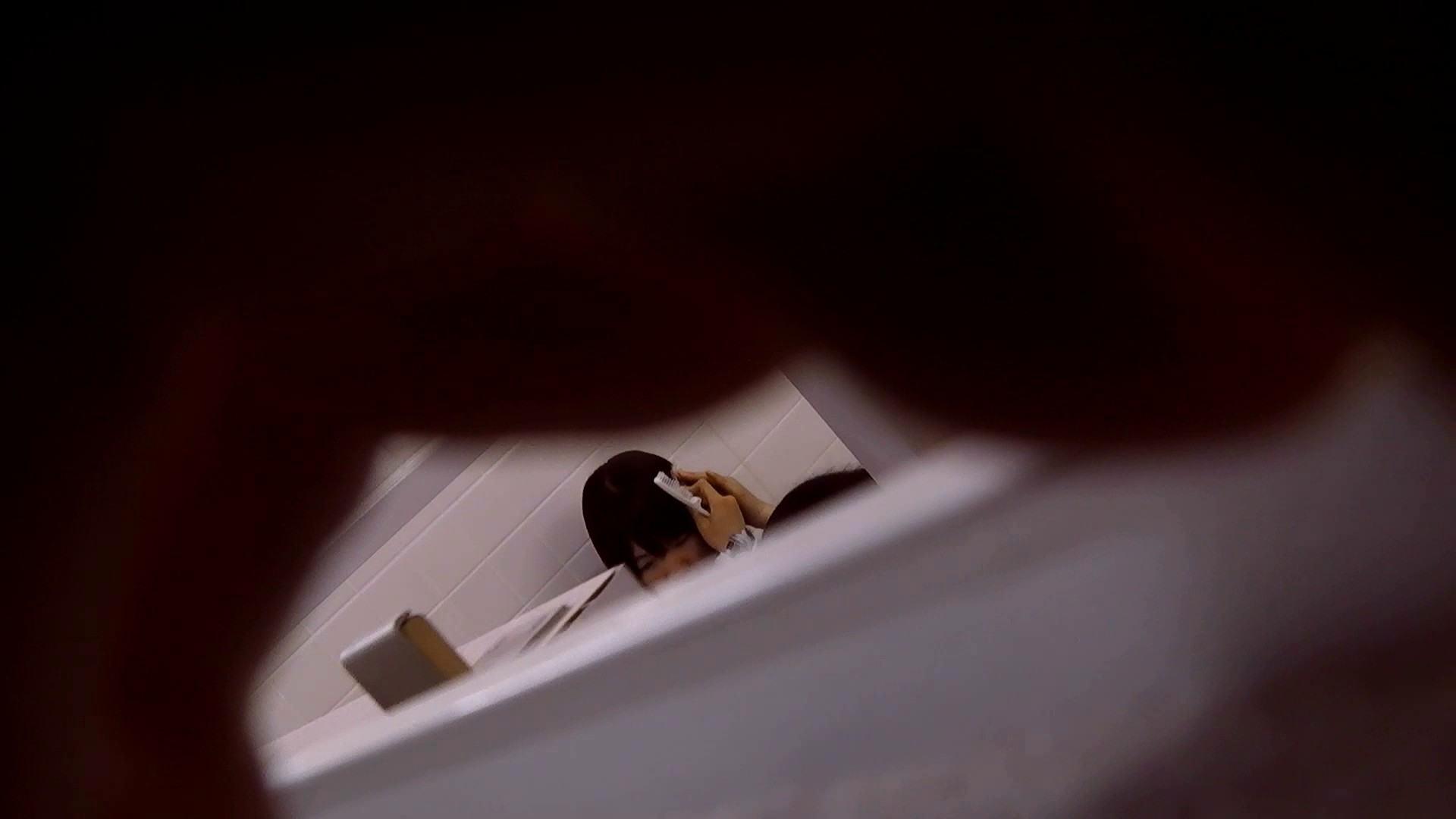 お銀さんの「洗面所突入レポート!!」Nol.15 盛合せ   丸見えマンコ  24画像 6