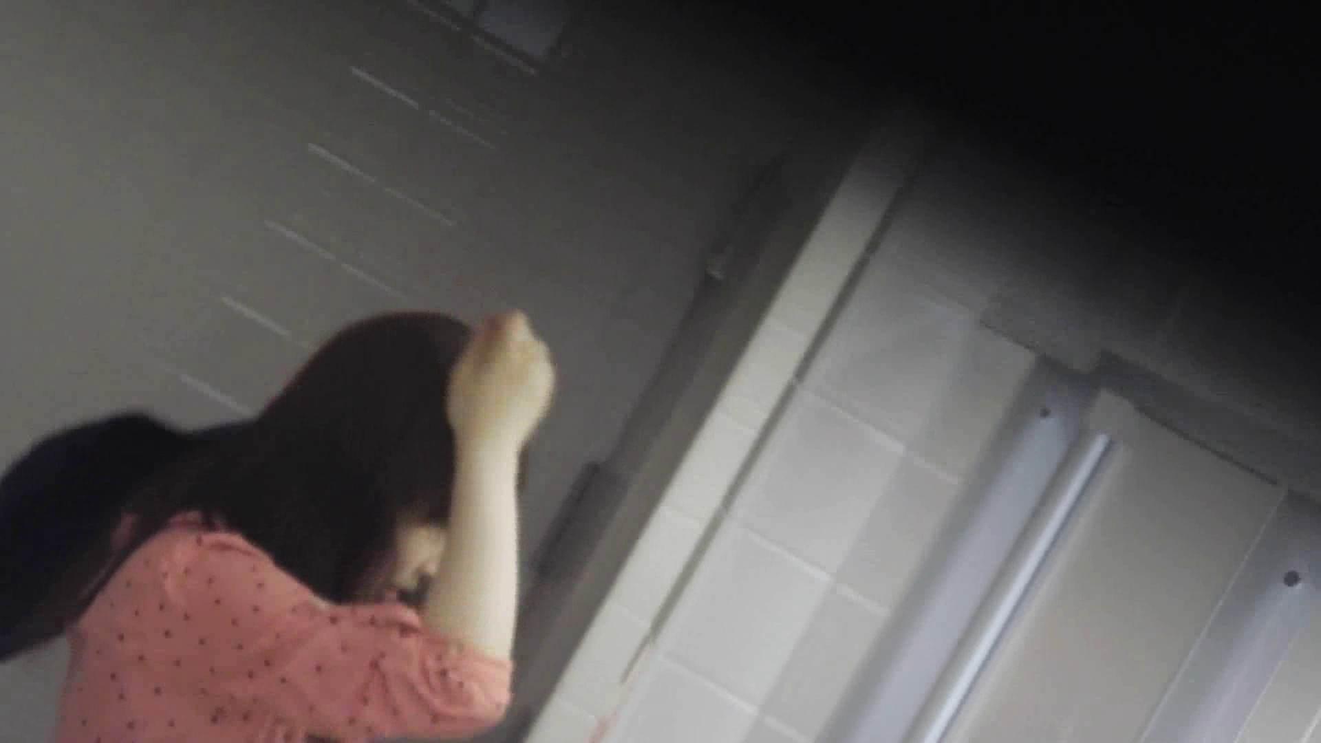 お銀さんの「洗面所突入レポート!!」 vol.28小島陽菜似のピンクオシャレさん 丸見えマンコ   洗面所  111画像 15