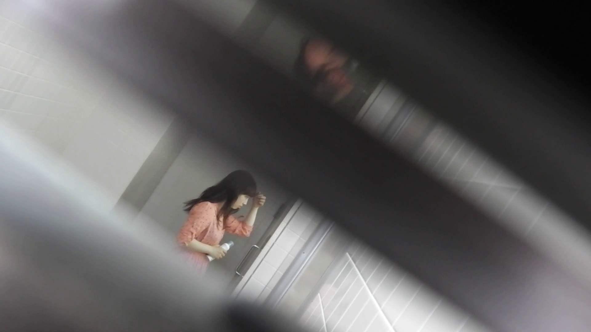 お銀さんの「洗面所突入レポート!!」 vol.28小島陽菜似のピンクオシャレさん 丸見えマンコ   洗面所  111画像 29