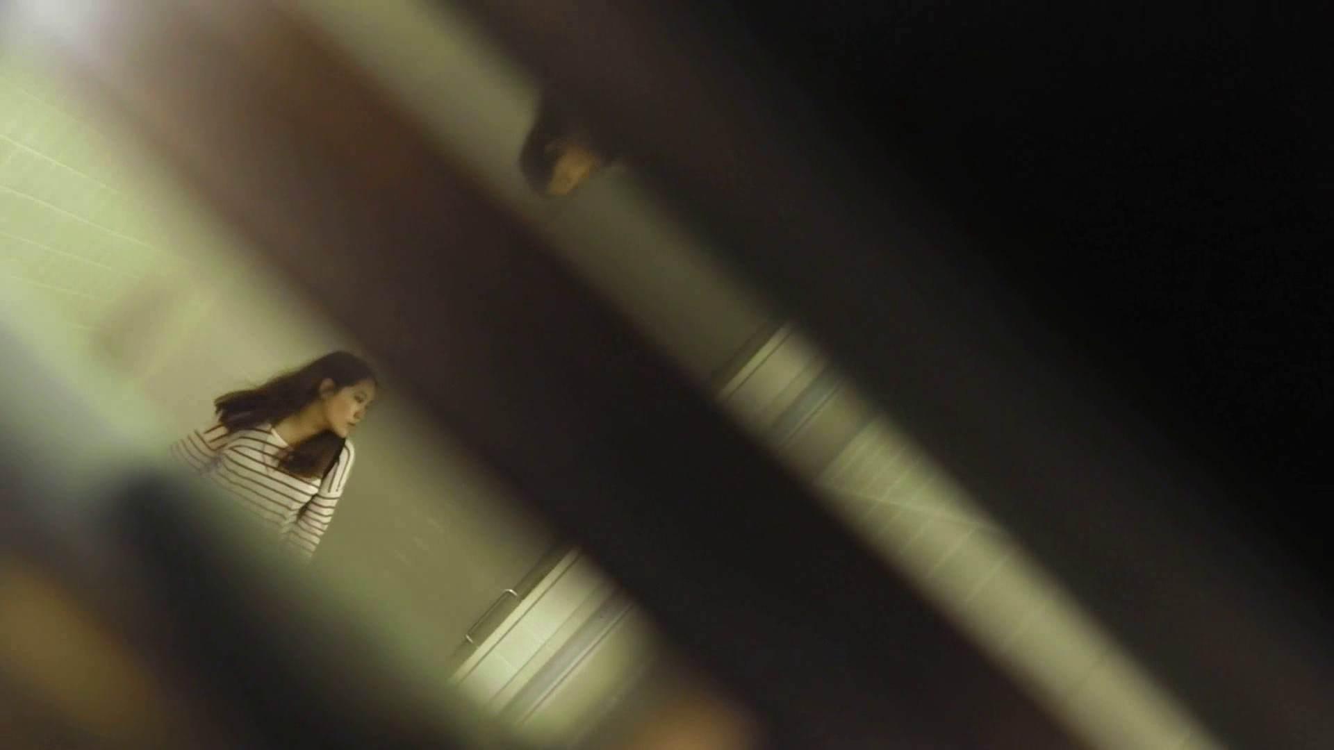 お銀さんの「洗面所突入レポート!!」 vol.28小島陽菜似のピンクオシャレさん 丸見えマンコ   洗面所  111画像 74