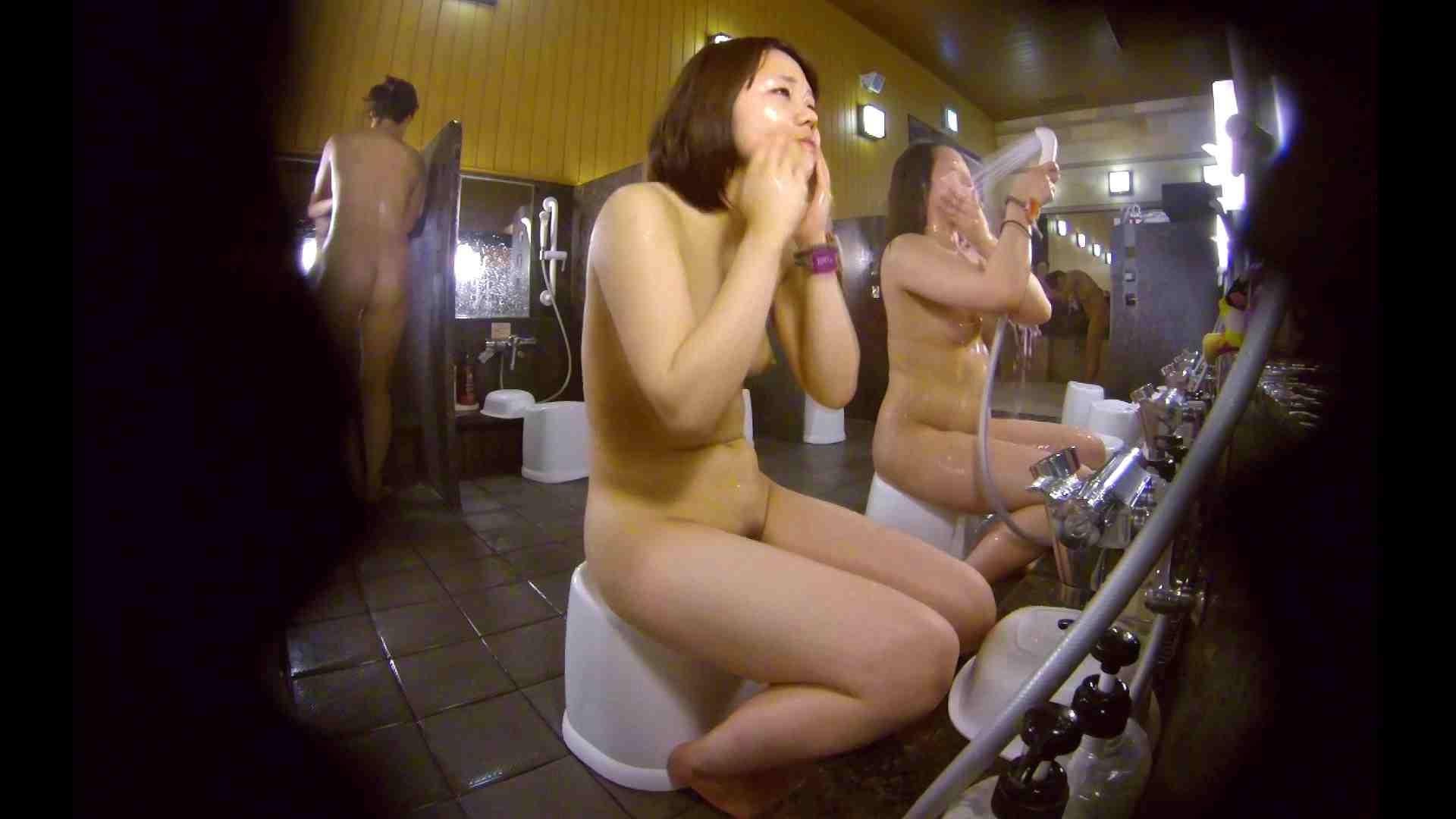 洗い場!ムッチリの2人組。美女ではないですが、触りたくなる体つき 美肌   むっちり  54画像 18