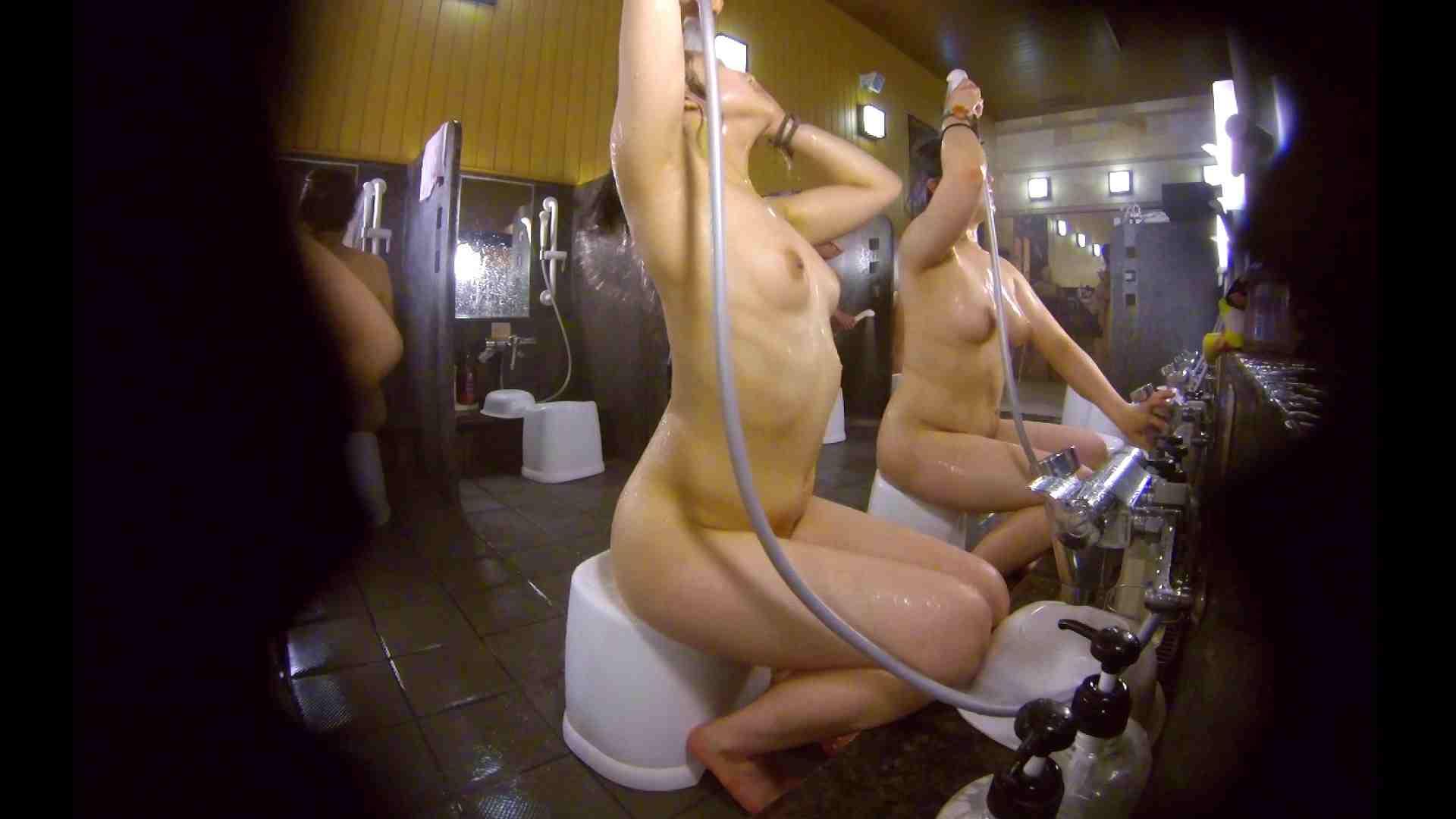 洗い場!ムッチリの2人組。美女ではないですが、触りたくなる体つき 美肌   むっちり  54画像 20