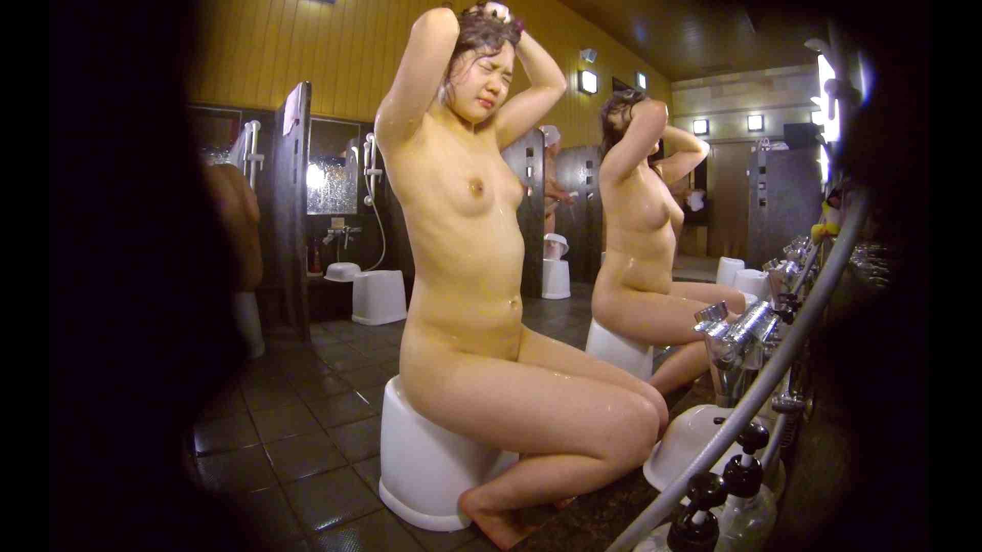 洗い場!ムッチリの2人組。美女ではないですが、触りたくなる体つき 美肌   むっちり  54画像 23