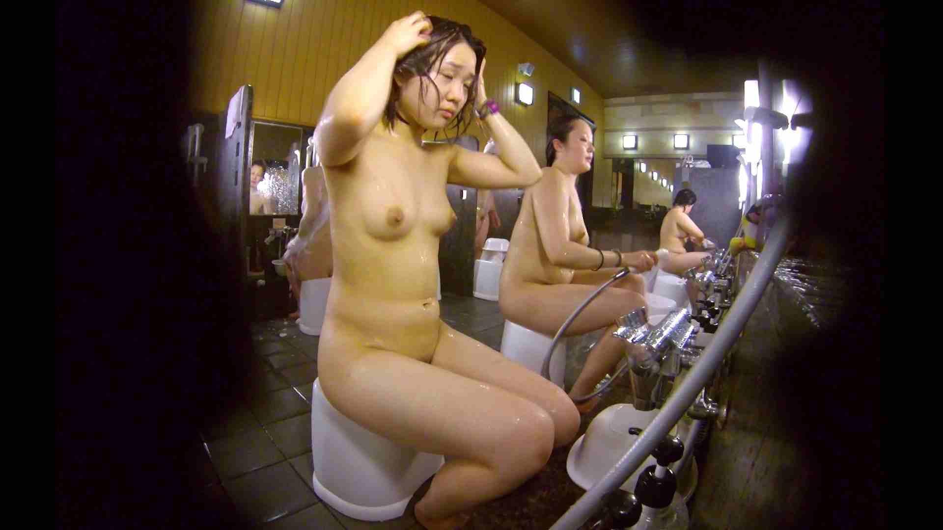 洗い場!ムッチリの2人組。美女ではないですが、触りたくなる体つき 美肌   むっちり  54画像 36