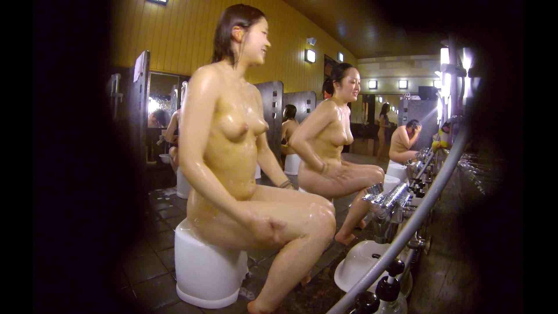 洗い場!ムッチリの2人組。美女ではないですが、触りたくなる体つき 美肌   むっちり  54画像 52