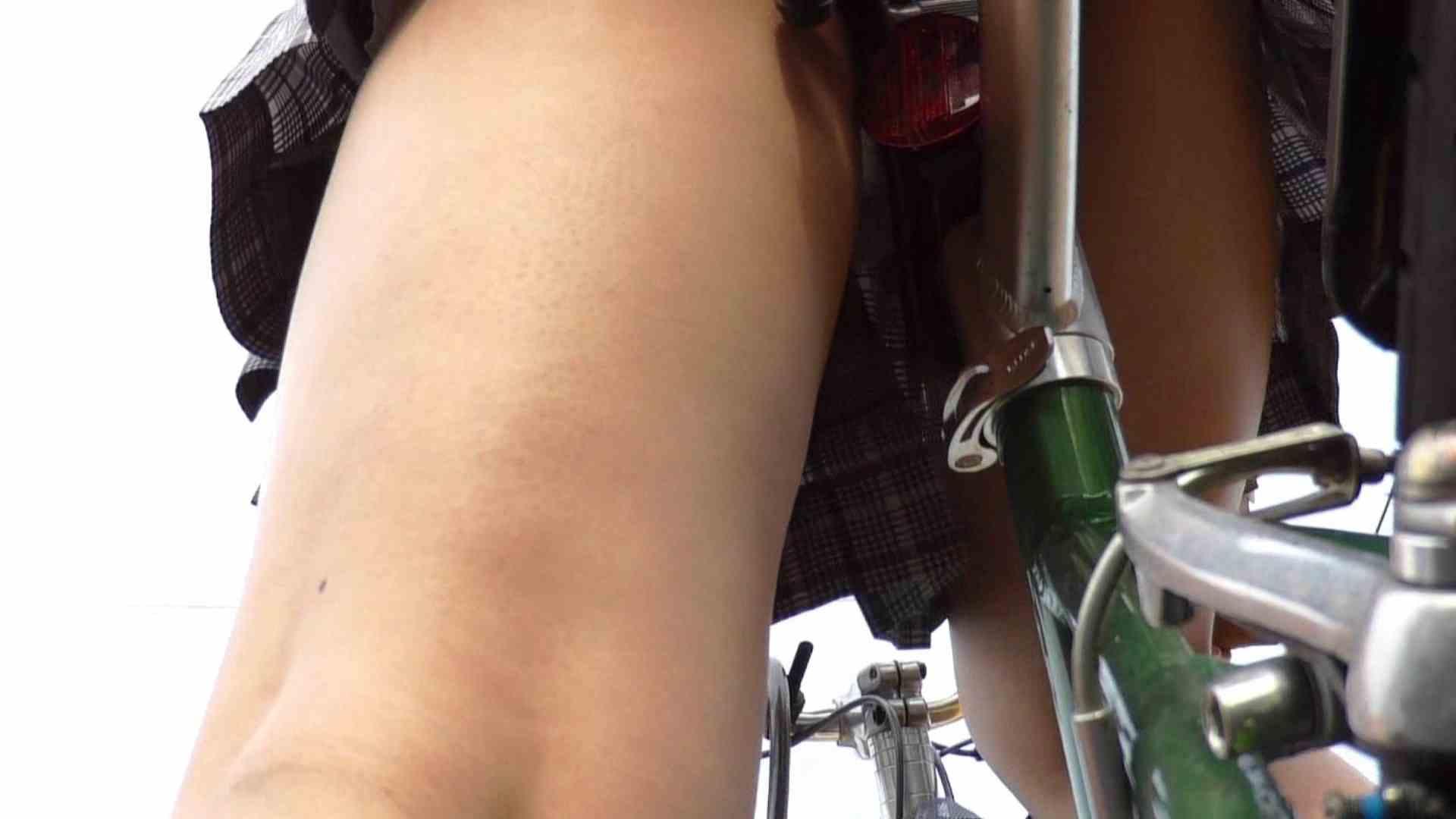 自転車パンチラ Vol.01 ギャル | むっちり  23画像 11