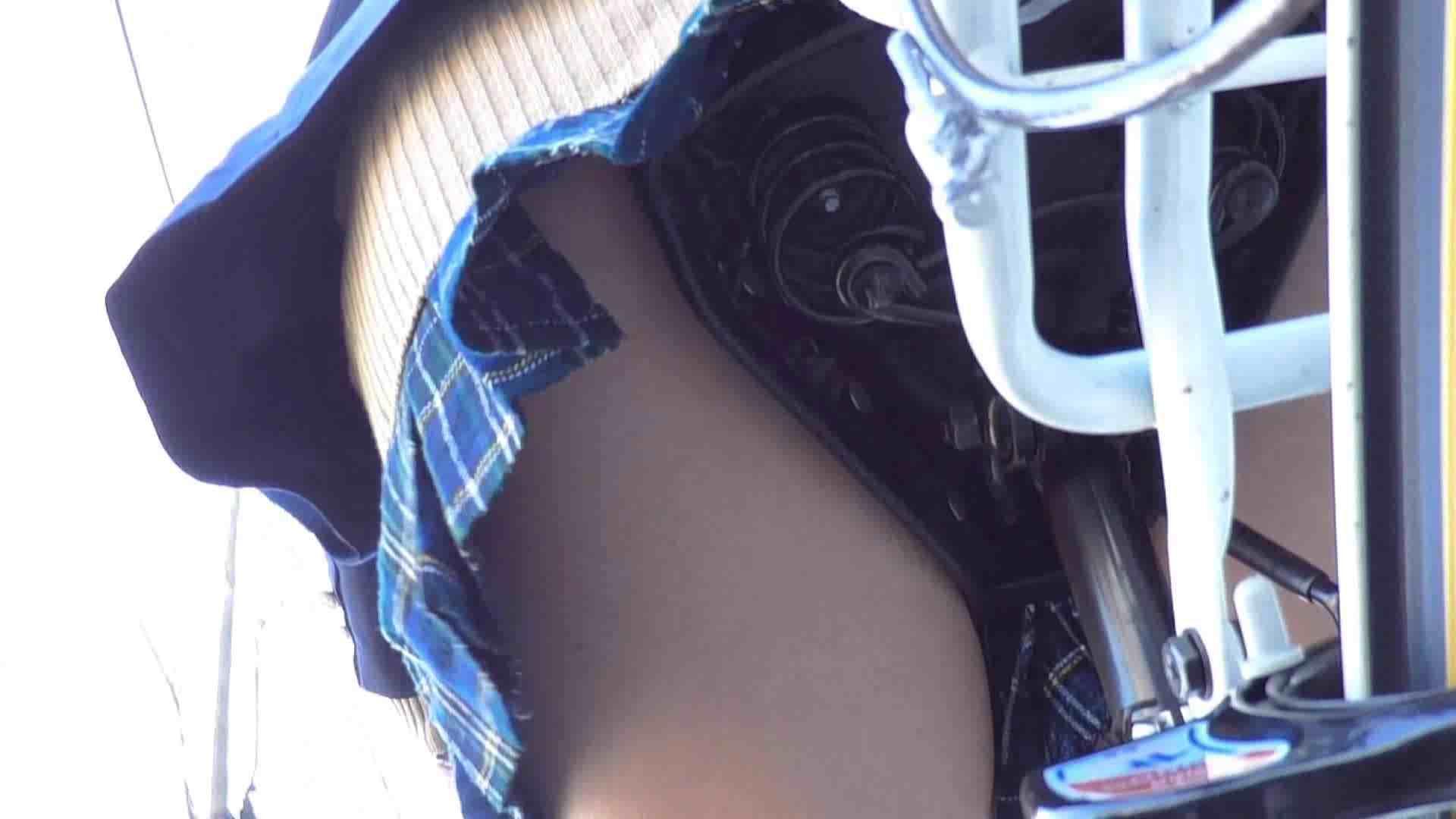 自転車パンチラ Vol.03 車 | パンチラ  45画像 13