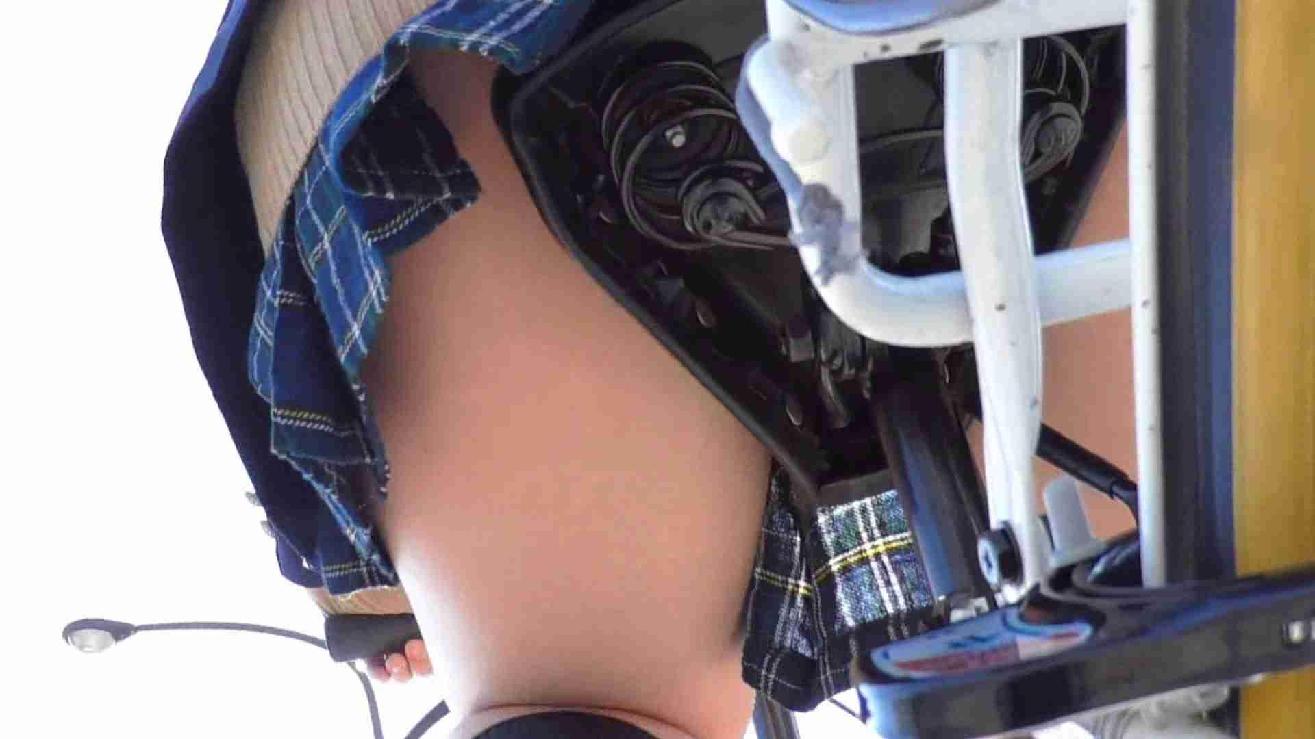 自転車パンチラ Vol.03 車 | パンチラ  45画像 36